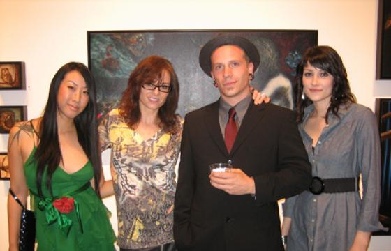 "Photos: ""Four"" at Corey Helford Gallery"