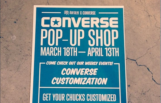 Kevin Taylor & Henry Lewis @ Converse x Urban Outfitters Pop-Up, SF