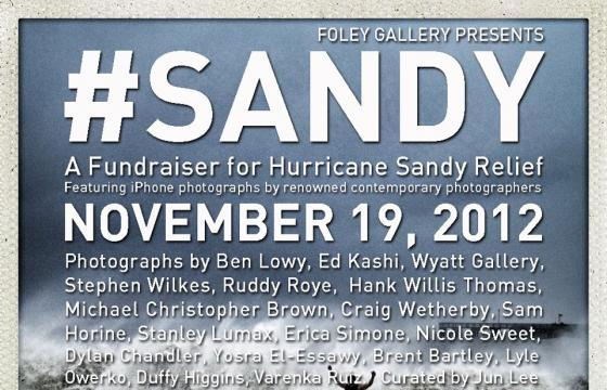 #Sandy @ Foley Gallery, NYC
