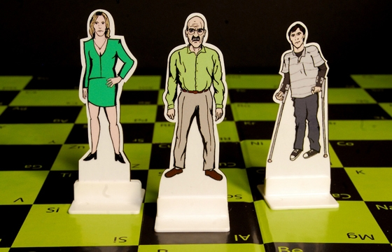 Breaking Bad: The Chess Game by Known Unknown Design