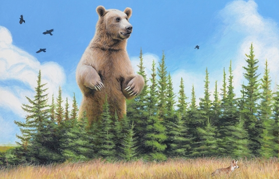 "Josh Keyes ""The Far Side of the World—Old Ones"", Part 1"