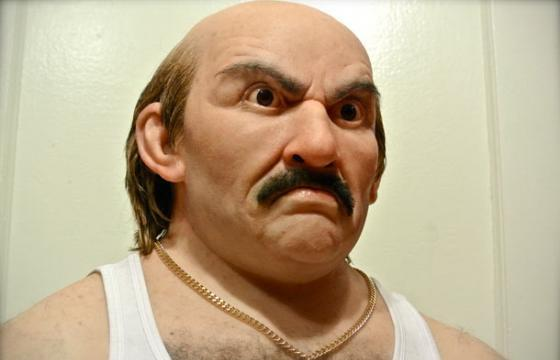 Adult Swim x Juxtapoz: Kevin Kirkpatrick's Bust of Carl from Aqua Teen