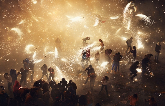 The National Pyrotechnic Festival Photographed by Thomas Prior