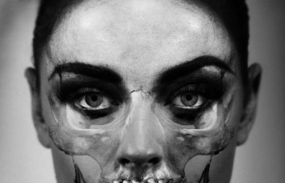"Skull Portraits: ""Intuition"" by Carsten Witte (NSFW)"