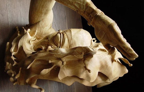 Stefanie Rocknak Carves Sculptures From a Single Piece of Wood