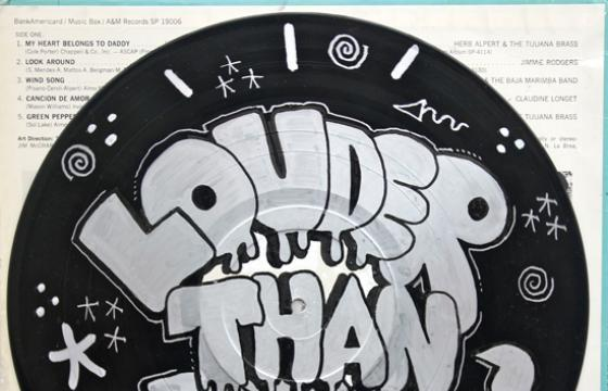 "PEZ ""Louder Than Bombs"" for FIFTY24SF x Noise Pop 2011"