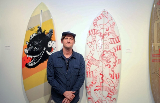 "Opening: Waves For Water ""Surf Craft"" Benefit @ TFR Gallery, Encinitas"