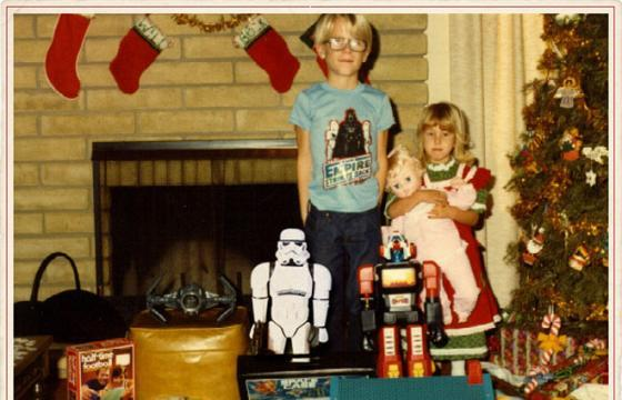 1978 XMAS with the STORMTROOPER SUPER SHOGUN