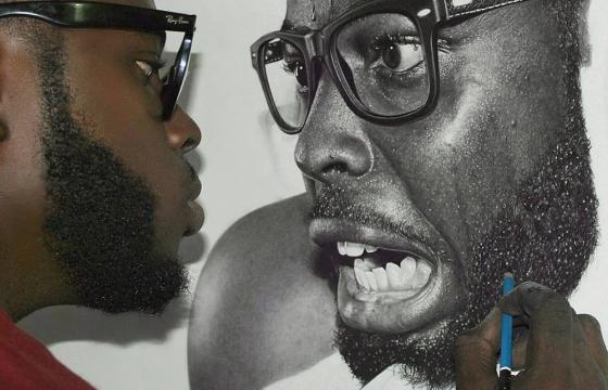 Hyperreal Pencil Drawings by Nigerian artist Arinze Stanley