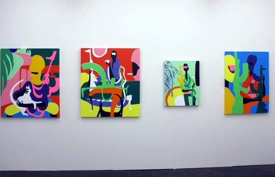 V1 Gallery features Geoff McFetridge, Todd James, and HuskMitNavn @ Volta9, Basel