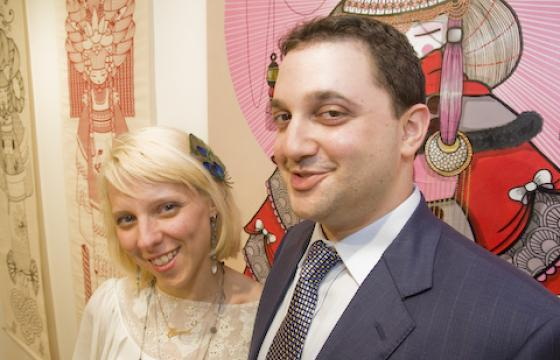 Photos: Robert Hardgrave & Koralie at Joshua Liner Gallery