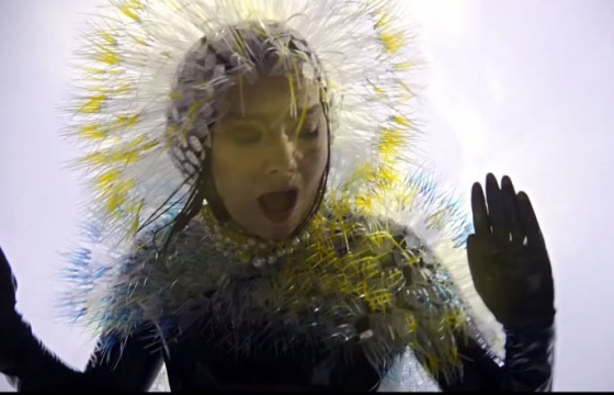 "Music Video: Björk ""Lionsong"" by inez & vinoodh"