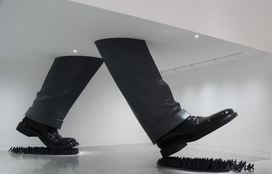Installation works by Do Ho Suh