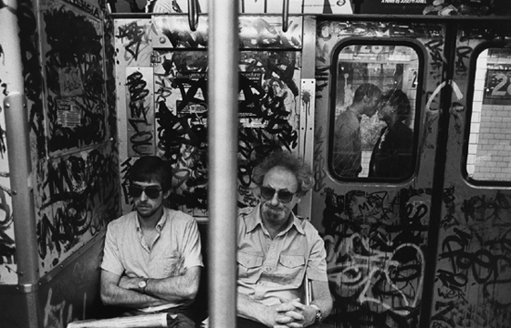 FRIDAY SPOTLIGHT: RICHARD SANDLER's NEW YORK SUBWAY PHOTOGRAPHY from the '80s