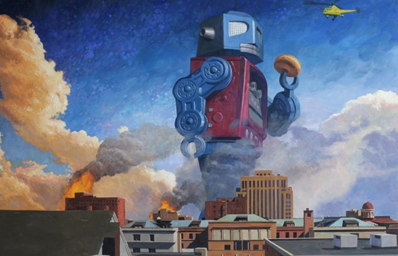 "Preview: Eric Joyner ""First World Problems"" @ Corey Helford Gallery, Culver City"