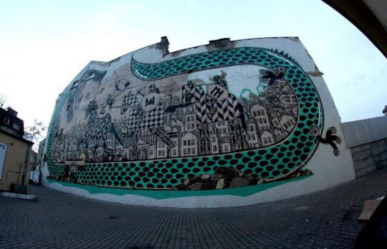New M-City Mural in Poland
