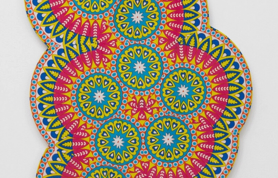 Popular Psychedelic Molecules, Rendered With Atomic Precision, Using Hippie Tapestries: New Works by Kelsey Brookes