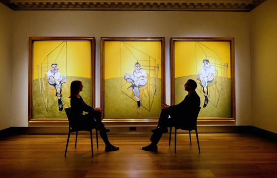 "Francis Bacon's ""Three Studies of Lucian Freud"" goes for a minor $142.4m at Christie's"