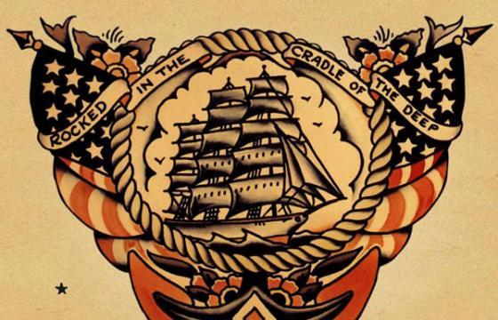 In Tattoo: A Traditional Sailor Jerry