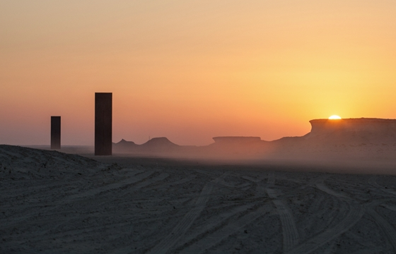 """East-West/West-East"": Richard Serra in Qatar"