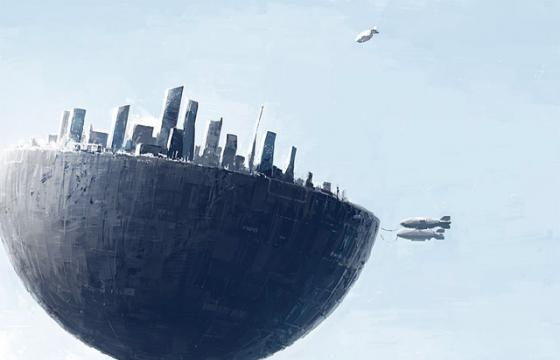 The Sci-Fi Universe of Alex Andreev