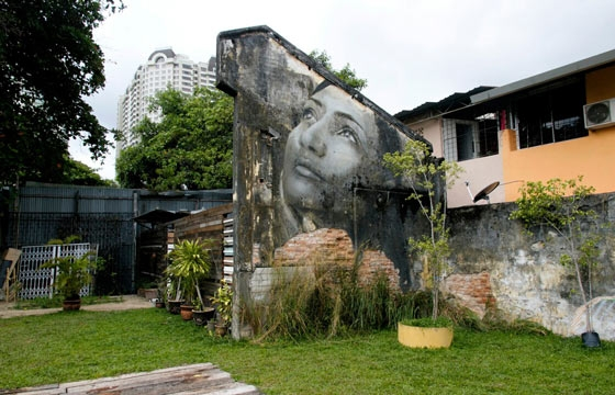 Rone, Vexta, Ernest Zacharevic and Elle and more @ Urban Xchange in Penang