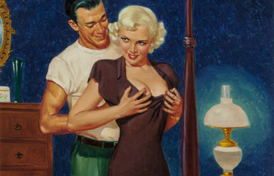 A History of Pulp, PG-13 Erotica, and Illustration in One Auction