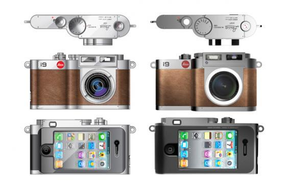 The BlackDA Leica i9 Concept Camera for the iPhone 4