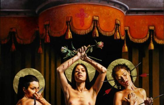 "The ""Dark Religon"" Work of Saturno Butto (NSFW)"