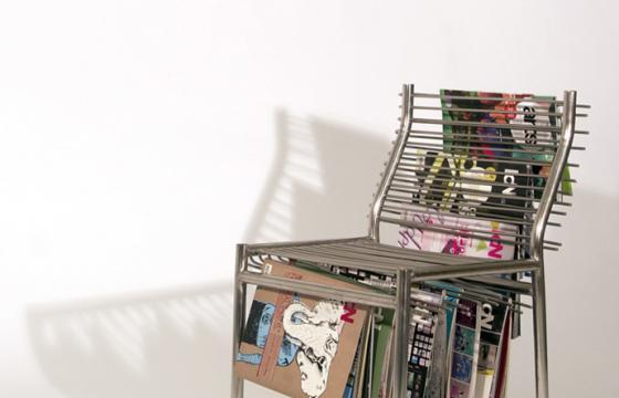The Magazine Rack Chair