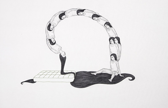 Drawings by Monica Zeringue