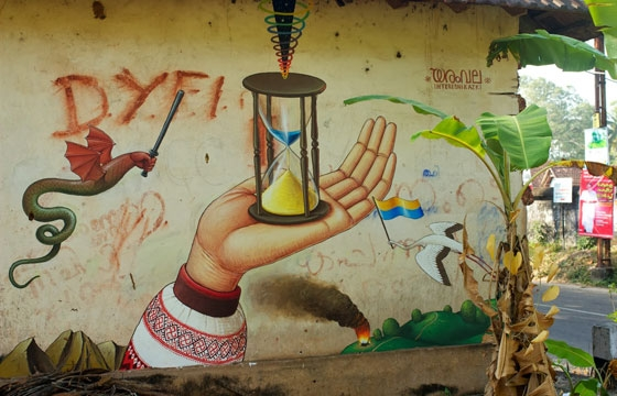 """Time For Change"" by Waone of Interesni Kazki in India"