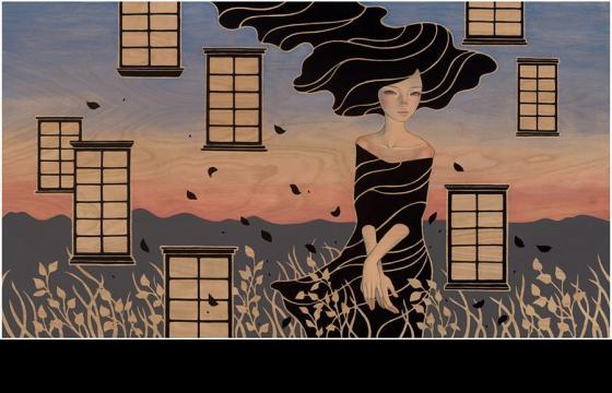 "Preview: Audrey Kawasaki ""Midnight Reverie"" @ Jonathan LeVine Gallery, NYC"