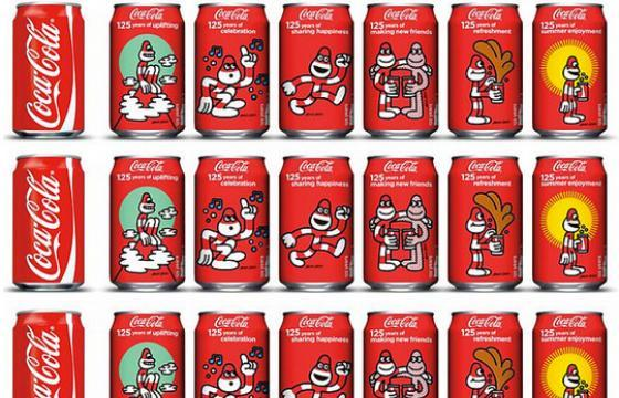 James Jarvis for Coca-Cola 125th Anniversary Cans