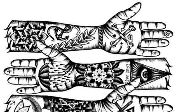 Tom Gilmour's Tattoo Illustrations