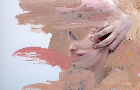 Painted Photographs by Rosanna Jones