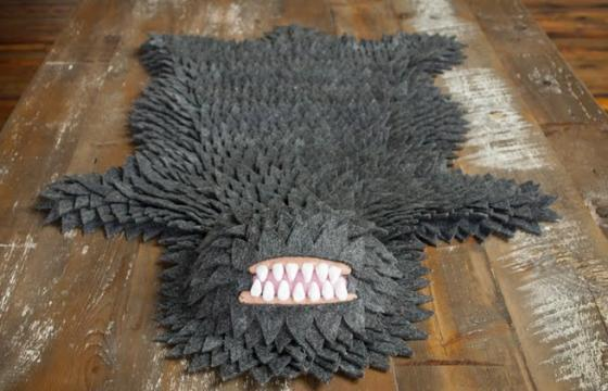 The Real Monster Skin Rug