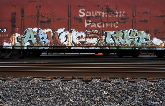 Abhor x Jase on a Southern Pacific