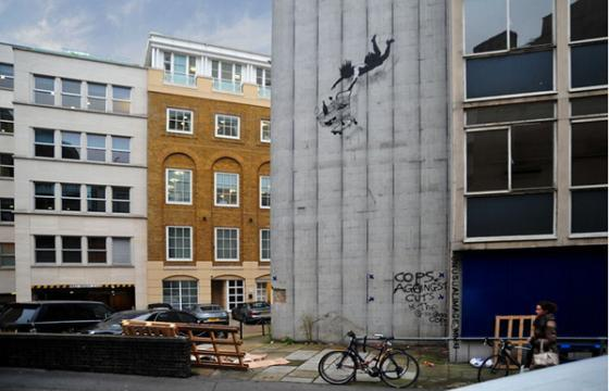 New Banksy in London?