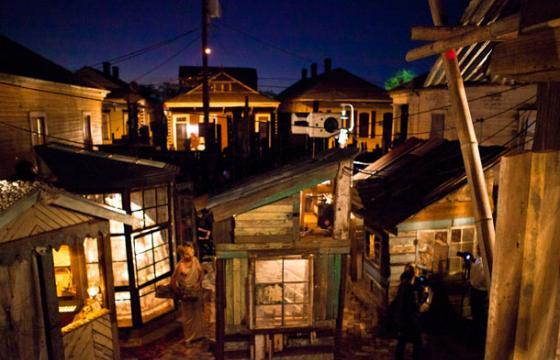 Swoon in New Orleans: The Music Box—A Shantytown Sound Laboratory