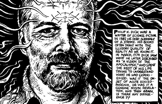 "R. Crumb's Illustration of Philip K. Dick's Spiritual ""Exegesis"""