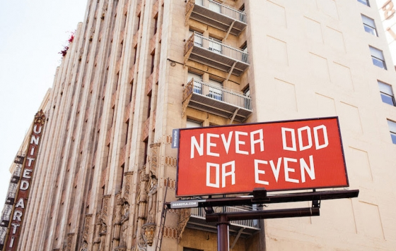 Ace Hotel x WeTransfer Billboard Project in Los Angeles