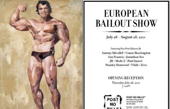 European Bailout Show at Post No Bills Venice Beach
