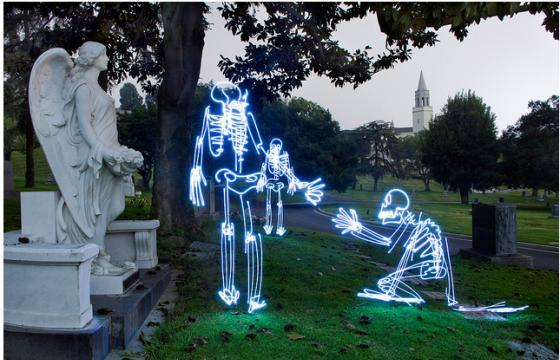 Illustrations with Light by Darren Pearson