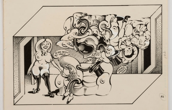 "Victor Moscoso	""Psychedelic Drawings, 1967-1982"" @ Andrew Edlin Gallery, NYC"