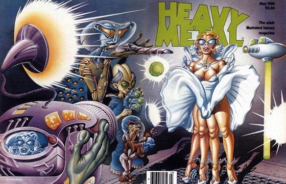 Classic Heavy Metal Magazine Covers