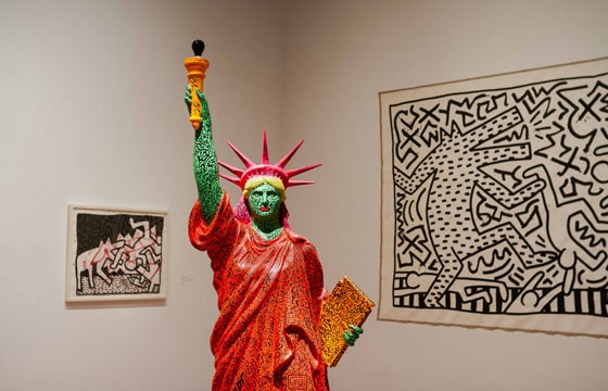 Keith Haring: The Political Line @ de Young Museum