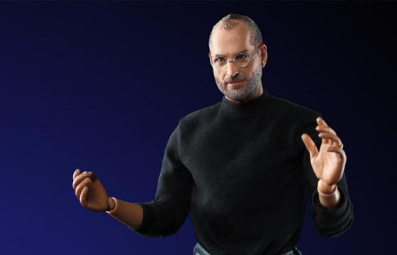 Steve Jobs Action Figure by In Icons