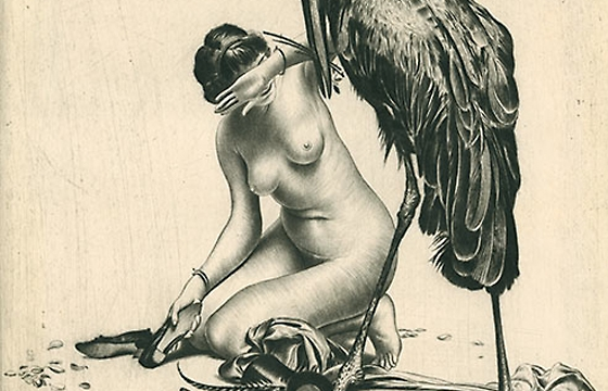 The Intricate Illustration and Erotica of Richard Müller (1874-1954)