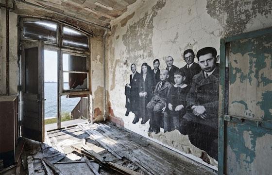 Unframed - JR Takes Over Ellis Island